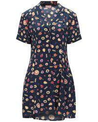 LHD Short Dress - Blue