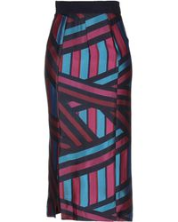 Teatum Jones - 3/4 Length Skirt - Lyst