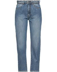 Berna Denim Pants - Blue