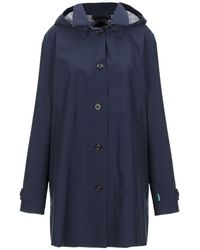 Save The Duck Overcoat - Blue