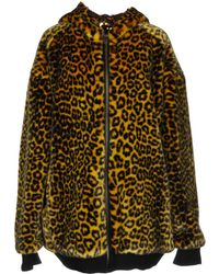 Faith Connexion Teddy coat - Giallo