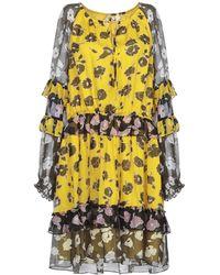 Diane von Furstenberg Midi Dress - Yellow