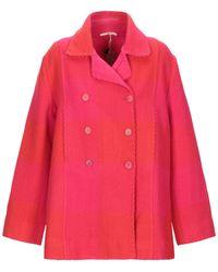 Péro Coat - Pink