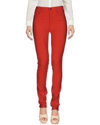 Peuterey Trousers - Red