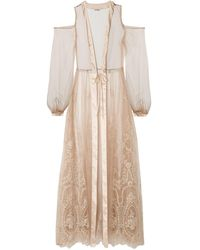 I.D Sarrieri Dressing Gown - Natural
