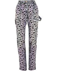 Versace Denim Pants - Purple