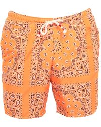 Mc2 Saint Barth Swimming Trunks - Orange