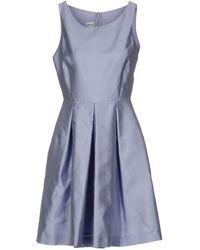 Armani Midi Dress - Purple
