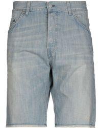Mauro Grifoni Denim Shorts - Blue