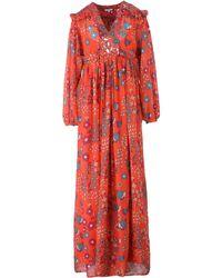 Manoush Vestido largo - Rojo
