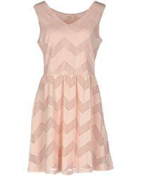 Lavand Short Dress - Pink