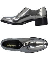 Raparo Zapatos de cordones - Gris