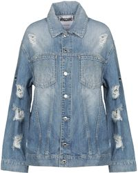 Moschino Denim Outerwear - Blue