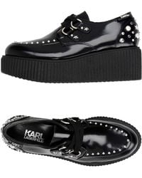 Karl Lagerfeld - Lace-up Shoe - Lyst
