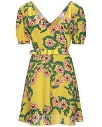 Hayley Menzies Short Dress - Yellow