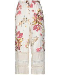 DV ROMA Pantalones cropped - Gris