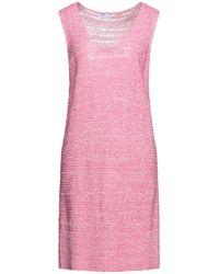 Gran Sasso Short Dress - Pink