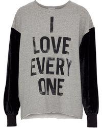 Cinq À Sept Sweatshirt - Grey