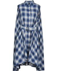 MM6 by Maison Martin Margiela - Short Dress - Lyst