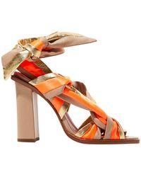 Santoni Sandals - Orange
