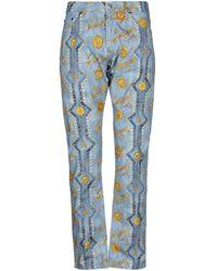 Versace Jeans Couture Pantalon - Bleu