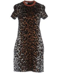 Stella McCartney - Short Dress - Lyst