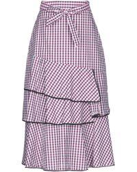 Silvian Heach 3/4 Length Skirt - Pink