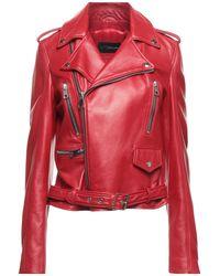Manokhi Jacket - Red