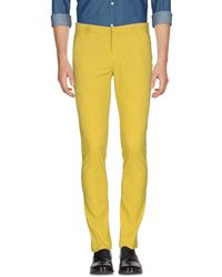 Dondup Casual Pants - Yellow