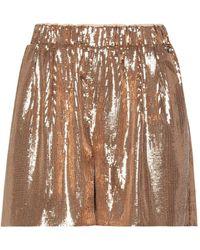 MY TWIN Twinset Shorts & Bermuda Shorts - Metallic