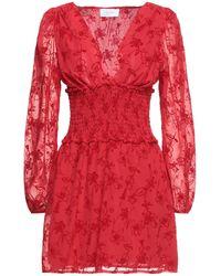 Soallure Short Dress - Red