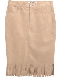 Junya Watanabe Midi Skirt - Natural