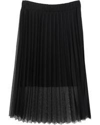 Motel Long Skirt - Black