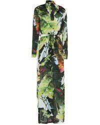 Blugirl Blumarine Long Dress - Green
