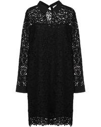 Shirtaporter Robe courte - Noir