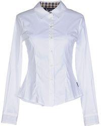 Aquascutum Camisa - Blanco