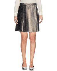 Tory Burch Mini Skirt - Gray
