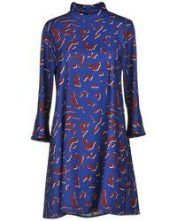 Trussardi Robe courte - Bleu
