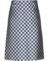 Marc By Marc Jacobs Knee Length Skirt - Natural