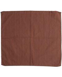 Roda Square Scarf - Brown