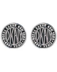 DKNY Earrings - Metallic