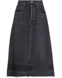 Citizens of Humanity Denim Skirt - Black