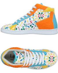 L4k3 High-tops & Sneakers - White