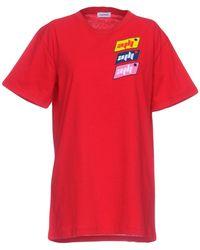 Au Jour Le Jour T-shirt - Red