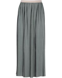 Bruno Manetti 3/4 Length Skirt - Grey