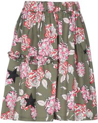 Saucony Knee Length Skirt - Multicolor