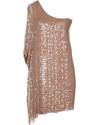 Twenty Easy By Kaos - Short Dresses - Lyst