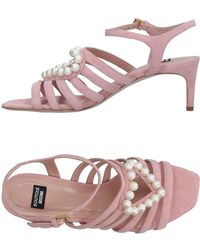 Boutique Moschino Sandals - Pink