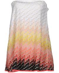 Missoni Short Dress - White