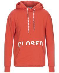 Closed Sweatshirt - Orange